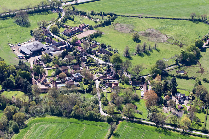 Gonalston from the air.