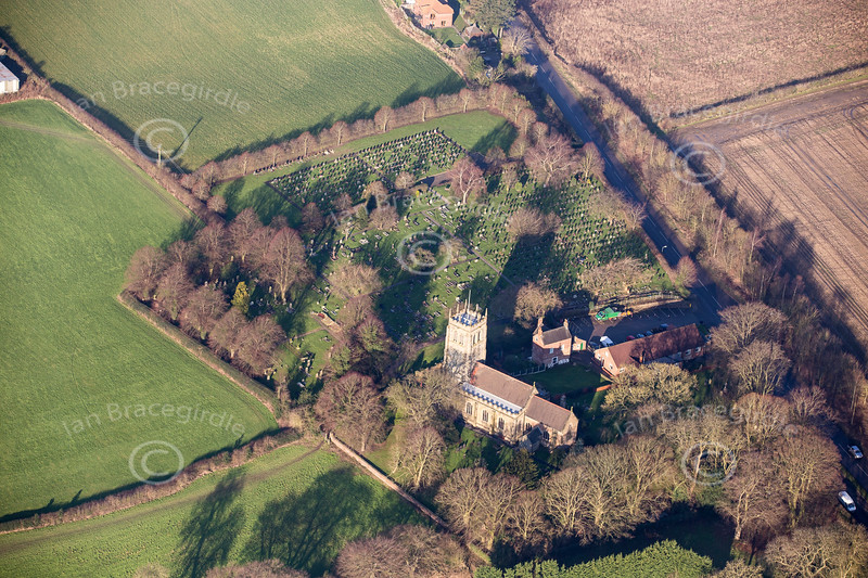 Aerial photo of Greasley.