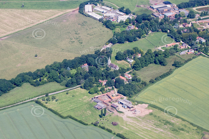 Aerial photo of Grove.