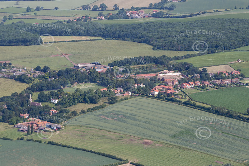 Aerial photo of Grove.