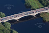 Aerial photo of Gunthorpe bridge.