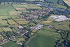 Aerial photo of Gunthorpe.