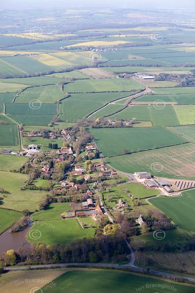 Halloughton aerial photo