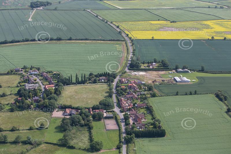 Aerial photo of Headon.