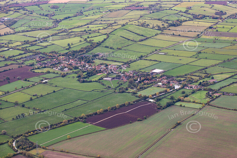 Aerial photo of Hickling.