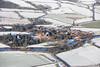 Aerial photo of Kelham in Snow-1