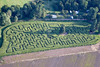 Aerial photo of Kelham Maze-1