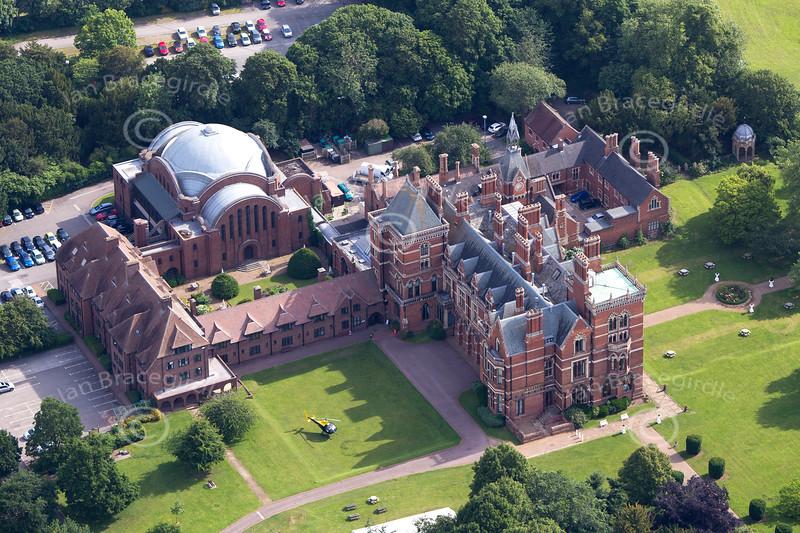 Aerial photo of Kelham Hall
