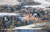 Aerial photo of Kelham in Snow-2