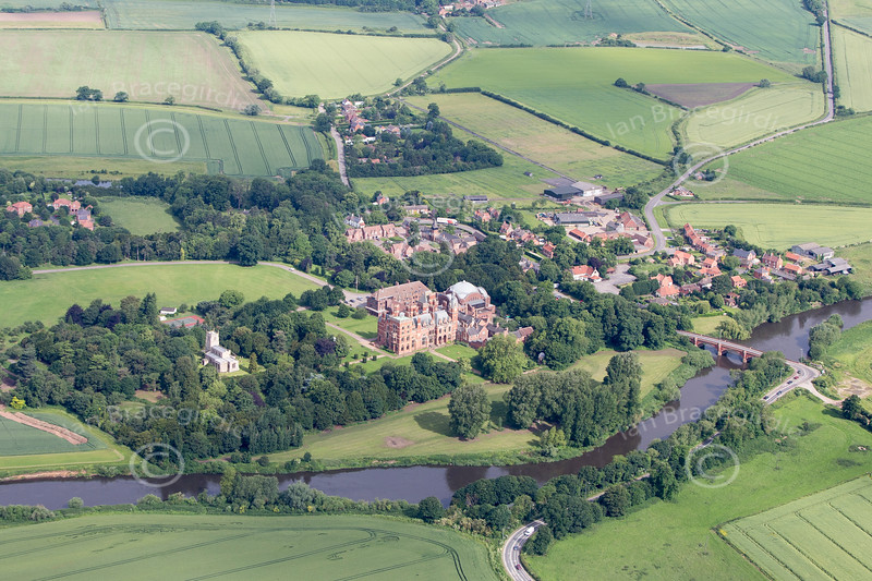 Aerial photo of Kelham.