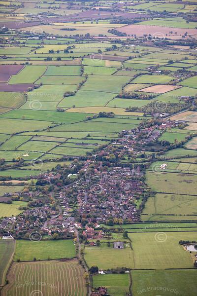 Aerial photo of Kinoulton.