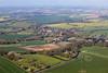 Aerial photo of Kirklington.