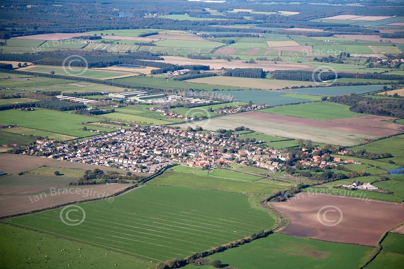 Aerial photo of Kirton.