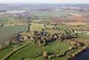 Aerial photo of Church Laneham.