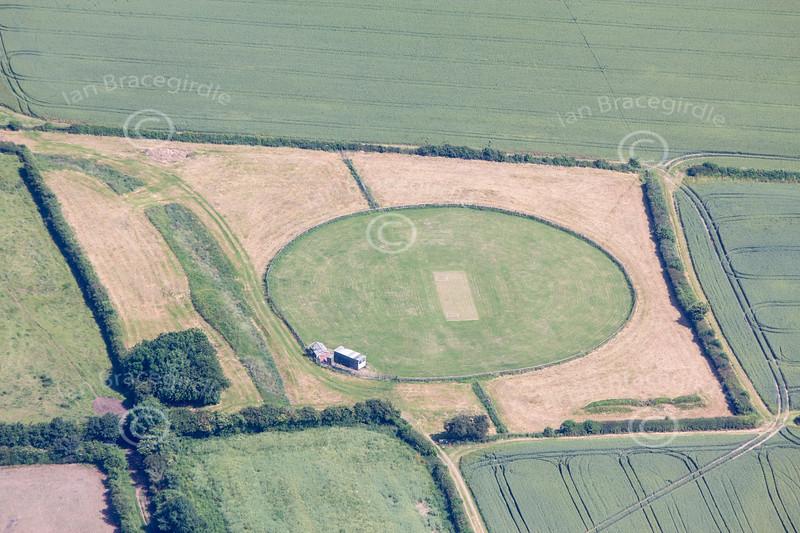 Aerial photo of Laxton Cricket-1