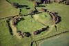 Laxton Motte and Bailey from the air.