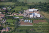 Aerial photo of Linby.