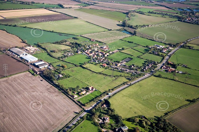 Aerial photo of Little Carlton.