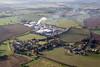 Aerial photo of Low Marnham.