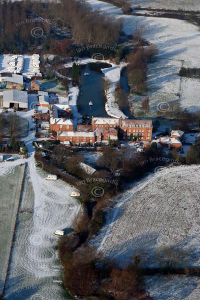 Aerial photo of Maythorne.
