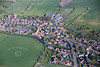 Aerial photo of Misterton in Nottinghamshire.