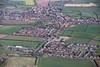 An aerial photo of Misterton.