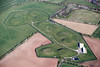 Aerial photo of Misterton.