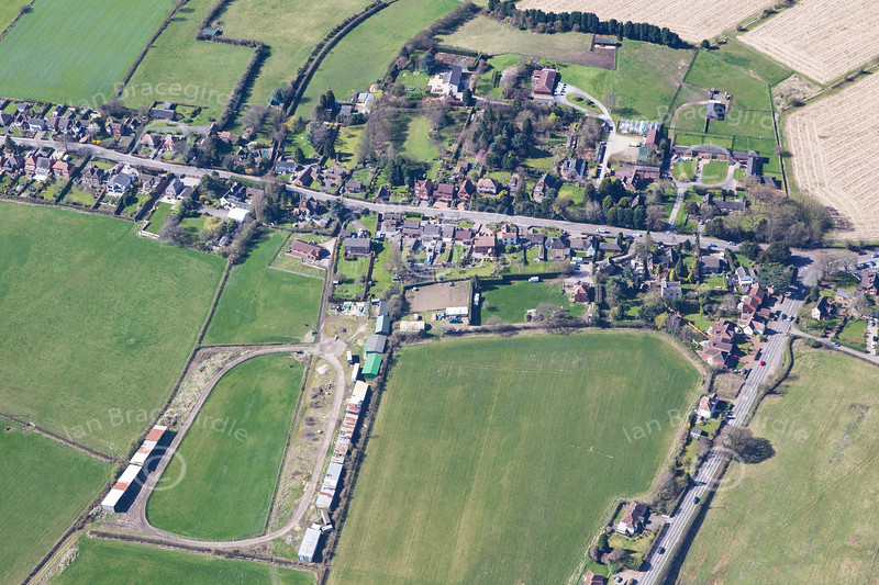 Aerial photo of Moorgreen.