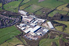 Aerial photo of Moorgreen Industrial Park.