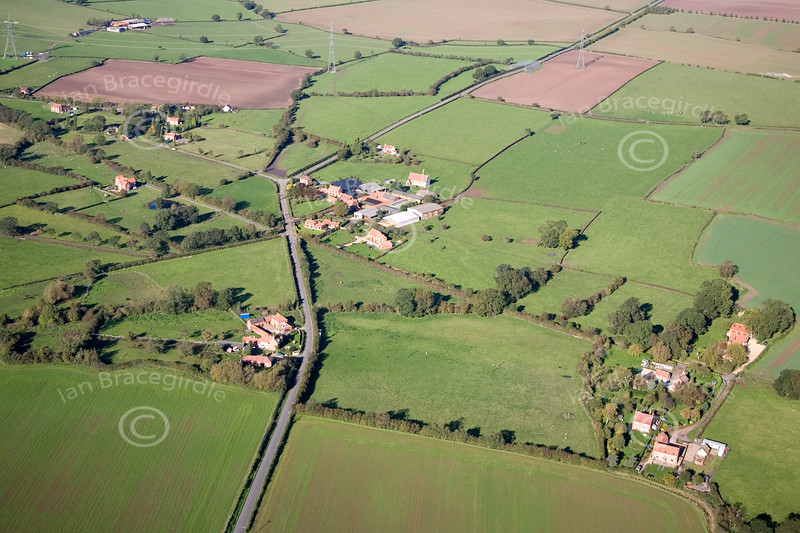 Aerial photo of Moorhouse.