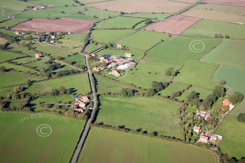Aerial photo of Moorhouse.