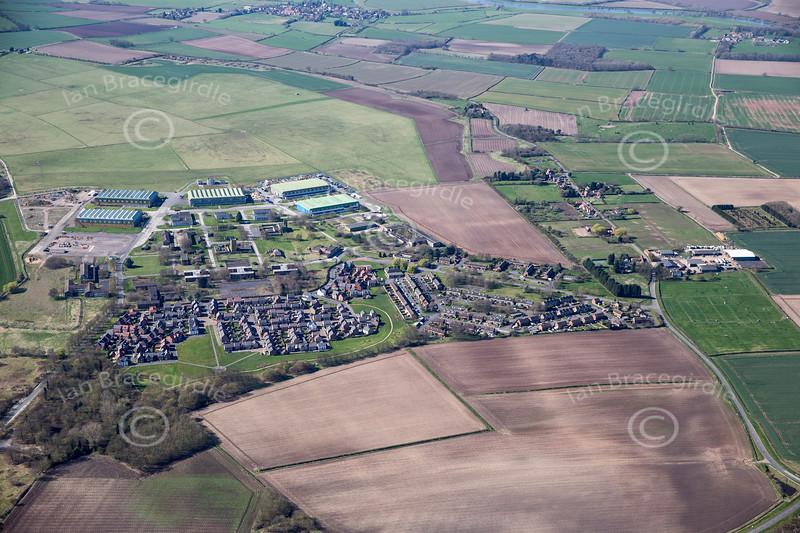 Aerial photo of Newton.