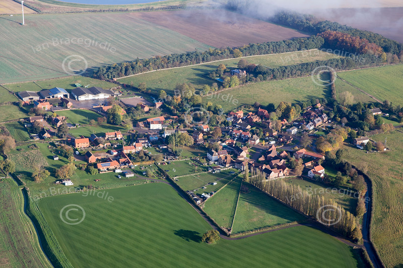Aerial photo of North Clifton.