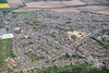 Aerial photo of Ollerton.