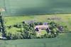 Aerial photo of Ompton.