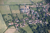 Aerial photos of Muston near Grantham in Lincolnshire.