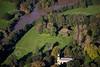 Aerial photo of Ossington.