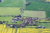 Owthorpe from the air.