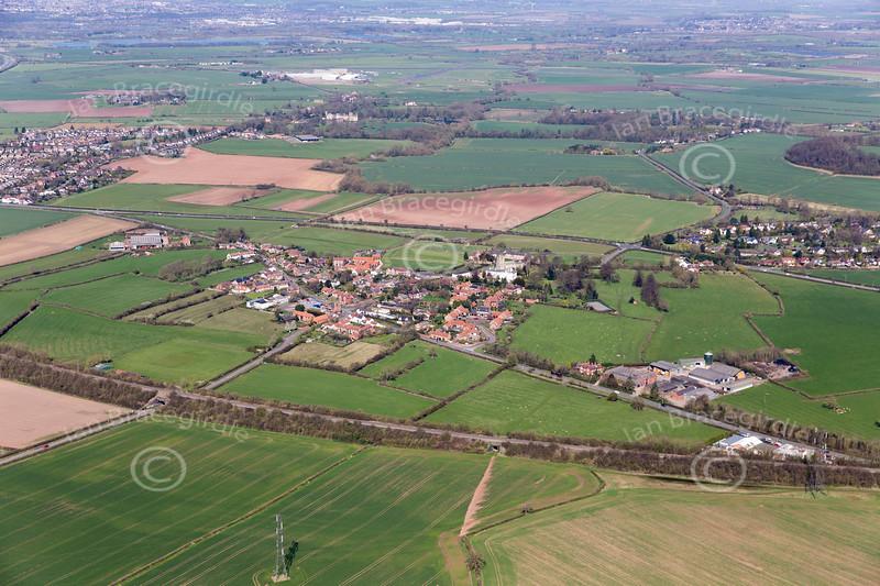 Aerial photo of Plumtree.