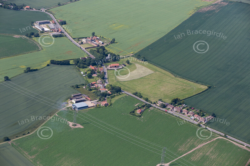 Aerial photo of Ragnall.