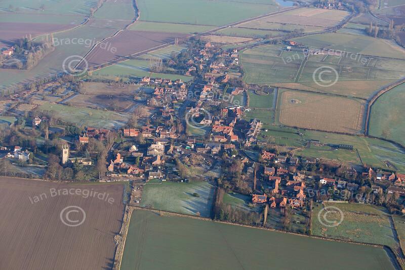 Aerial photo of Rolleston.