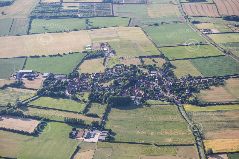 Aerial photo of Scarrington.