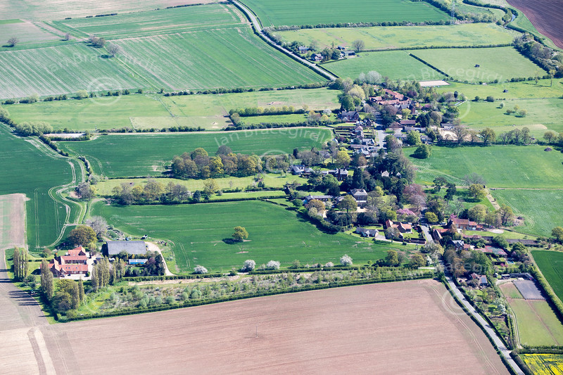 Shelton from the air.