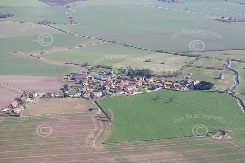 Aerial photo of Sibthorpe.