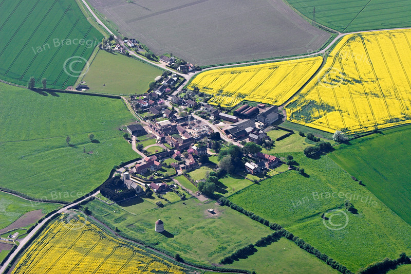 Aerial photo of Sibthorpe.