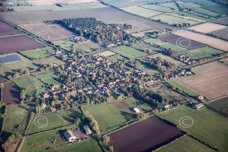 Aerial photo of South Clifton.