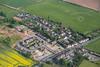 Aerial photo of Spion Kop.
