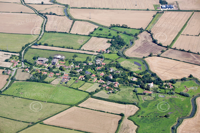 Aerial photo of Staunton.