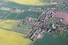 Aerial photo of Sturton Le Steeple.