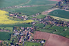 Aerial photo of Sturton Le Steeple.